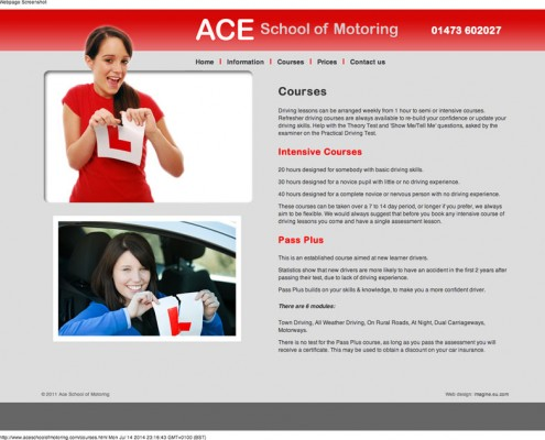 Ace School of Motoring ACE School of Motoring     pass your driving licence test with a course of driving lessons around Ipswich 1 495x400