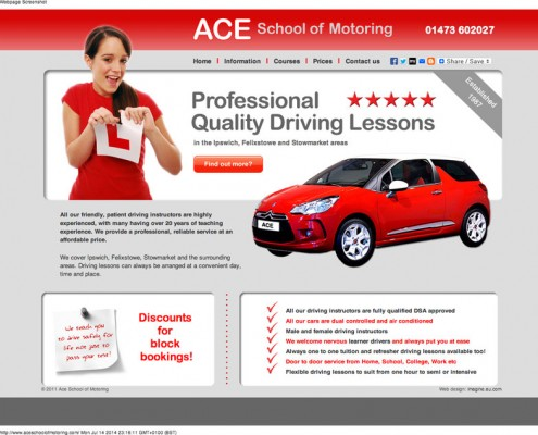 Ace School of Motoring ACE School of Motoring driving lessons     pass your test for a driving licence around Ipswich 1 495x400