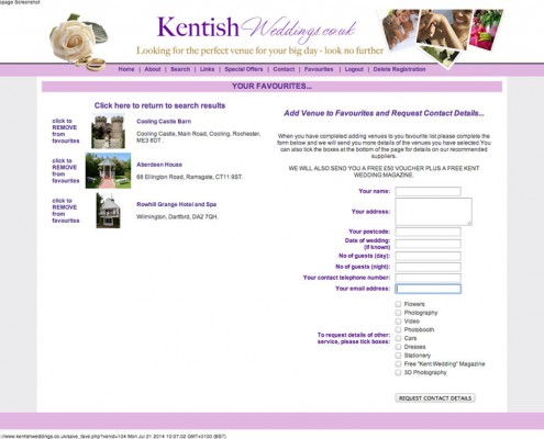 Kentish Weddings Kentish Weddings Results 1 495x400