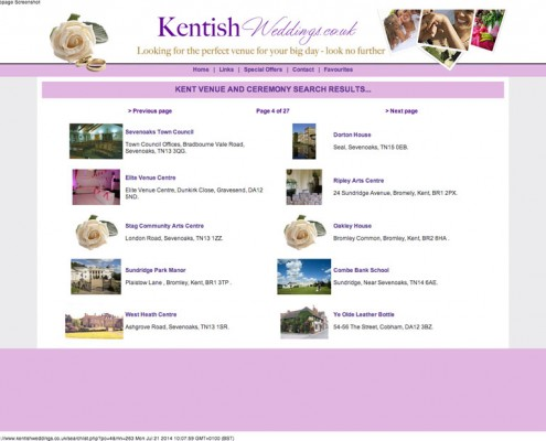 Kentish Weddings Kentish Weddings Results 2 495x400