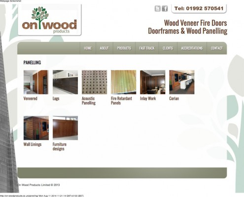On-Wood Products Ltd Panelling On Wood Products 495x400