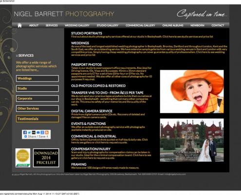 Nigel Barrett Photography Photographic Services from Nigel Barrett Photography 495x400