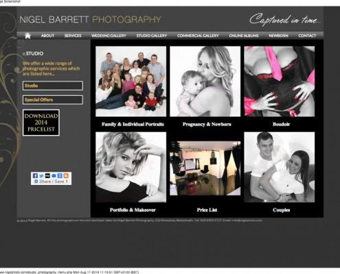 Nigel Barrett Photography Photography Studio in Bexleyheath Kent near London 495x400