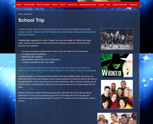 London Theatre Tours School Trip London Theatre Tours 495x400
