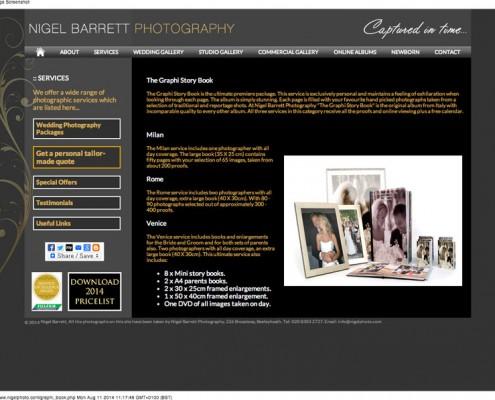 Nigel Barrett Photography The Graphi Story Book from Nigel Barrett 495x400
